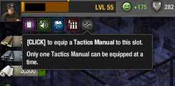Tactics Manual slot