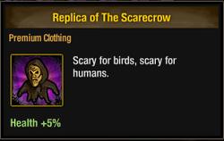 Tlsdz replica of the scarecrow