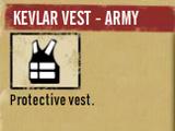 Kevlar Vest - Army