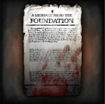 New Message From The Foundation