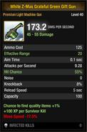White Z-Mas Grateful Green Gift Gun