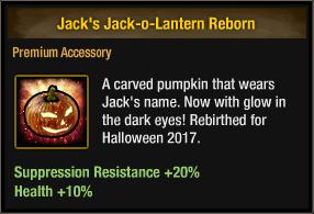 Jack's Jack-o-Lantern Reborn