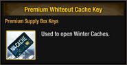 Premium Whiteout Cache Key