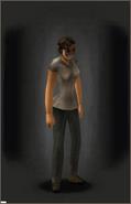 Splatter Mask equipped female