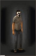 The Ghoul equipped male