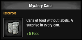 Mystery Cans
