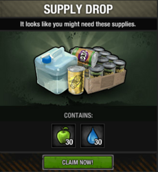 Package - supply drop