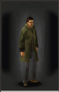 Long Jacket - Green equipped