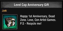 Level Cap Anniversary Gift