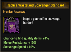 Replica Wasteland Scavenger Standard