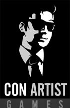 Con artist games logo