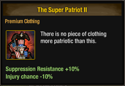 Tlsdz the super patriot II