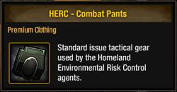 HERC - Combat Pants