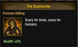 Tlsdz The Scarecrow