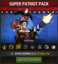 Tlsdz super patriot pack