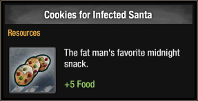 Cookies for Infected Santa 2017