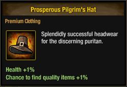 Tlsdz prosperous pilgrim's hat