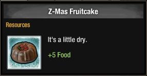 Z-Mas Fruitcake 2016