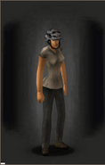 Combat Helmet - Urban equipped female