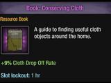 Conserving Cloth