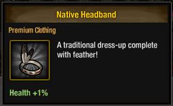 Tlsdz native headband