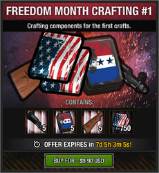 Freedom Month Crafting 1