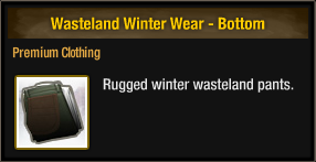 Wasteland Winter Wear - Bottom
