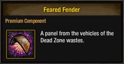 Tlsdz feared fender