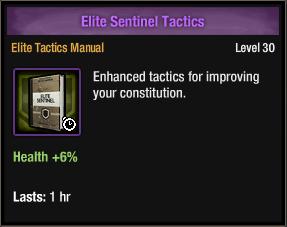 Elite Sentinel Tactics
