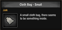 Cloth Bag - Small