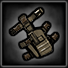 Crafted holster icon
