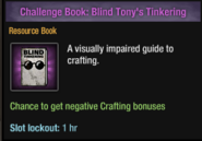 Blind Tony's Tinkering