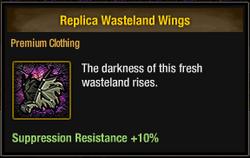 Tlsdz replica wasteland wings