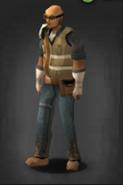 Brass goggles survivor