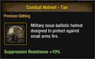 Tlsdz combat helmet - tan