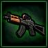 Scoped AKS-74U