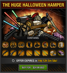 Tlsdz The Huge Halloween Hamper