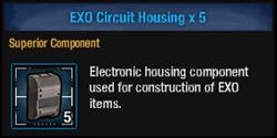 Exo circuit housing