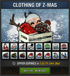 Clothing of Z-Mas