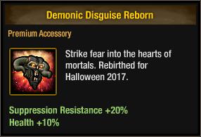 Demonic Disguise Reborn