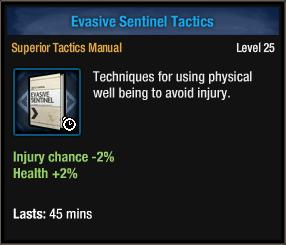 Evasive Sentinel Tactics