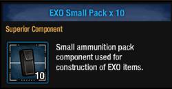 Exo pack s