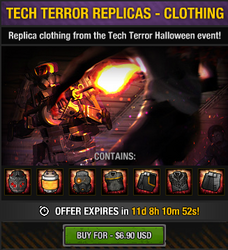Tech Terror Replicas - Clothing