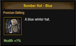 Tlsdz bomber hat blue