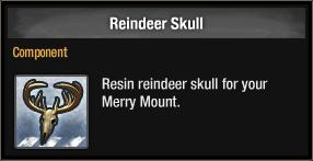 Reindeer Skull 2017