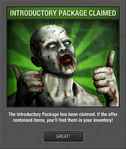 Claimed Pack