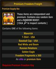 Premium Freedom Freight 1