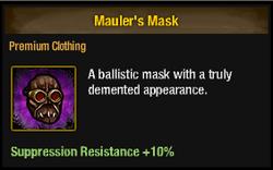 Tlsdz mauler's mask