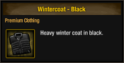 Wintercoat - Black