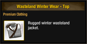 Wasteland Winter Wear - Top
